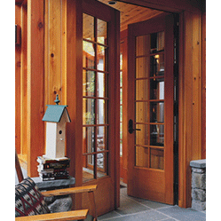 Architect series traditional exquisitely detailed wood doors